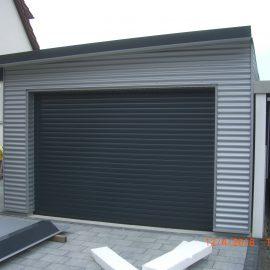 Garage in Holzständerbauweise